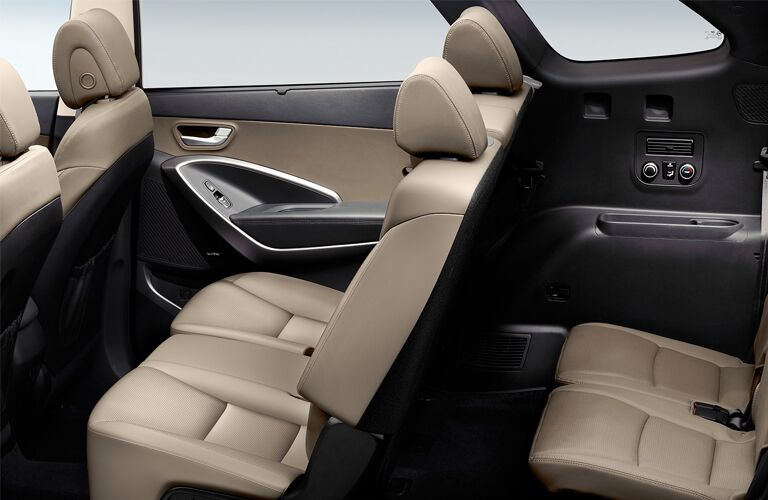 2019 hyundai santa fe xl seating detail
