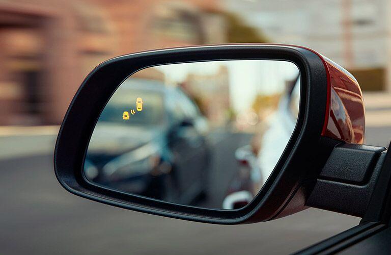 side mirror view of a 2020 Hyundai Venue