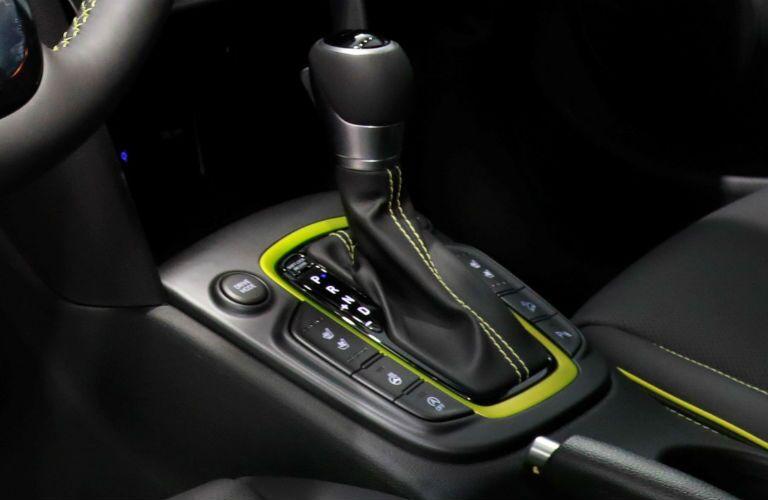2018 Hyundai Kona interior shifter