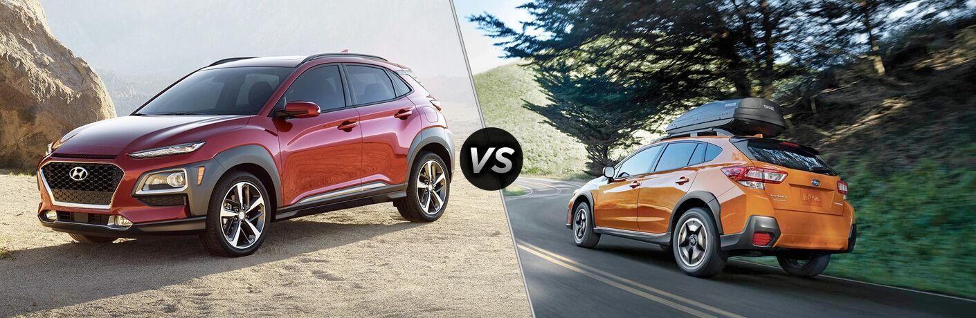2019 Hyundai Kona vs 2019 Subaru Crosstrek