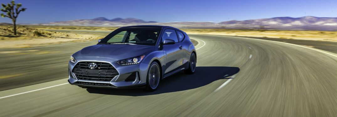 2019 hyundai veloster full view driving
