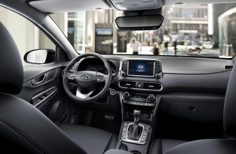 2020 Hyundai Kona front seats front view