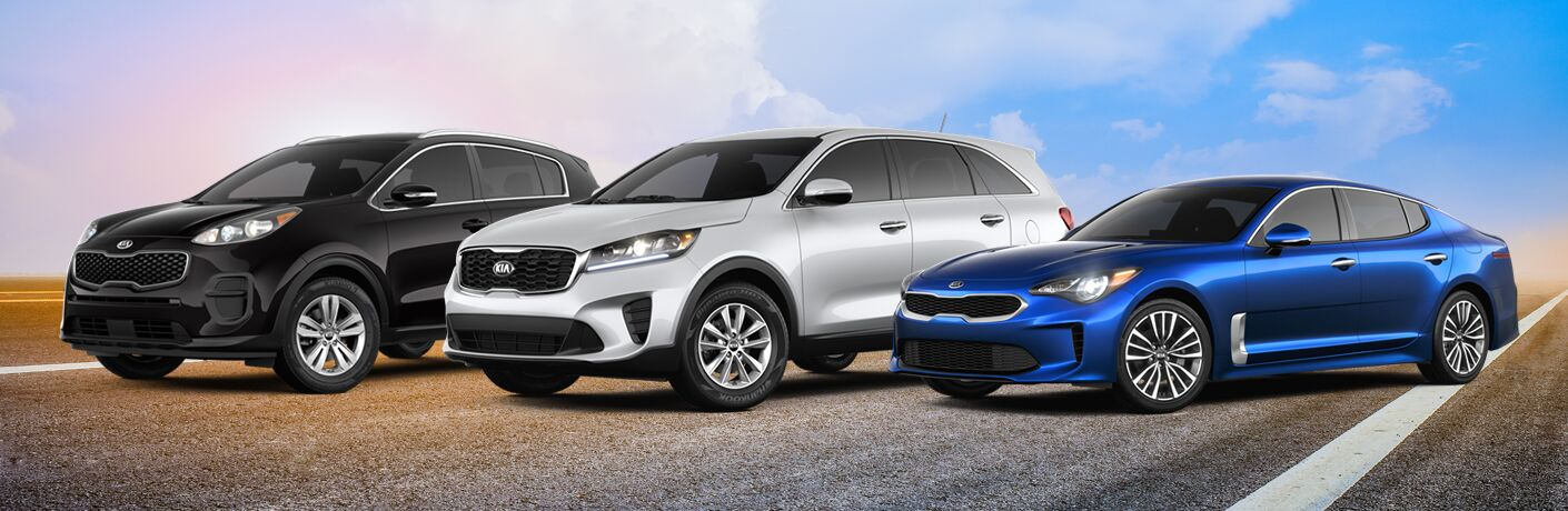 Kia Vehicles with All Wheel Drive Puyallup WA