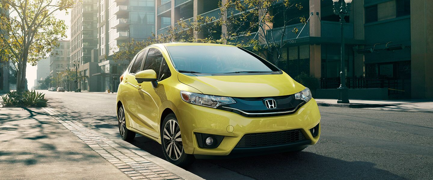 2017 Honda Fit in Yellow