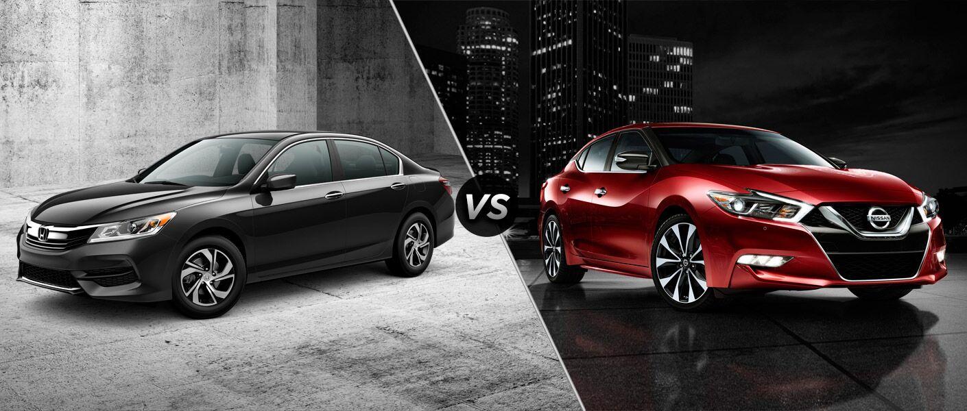 Image Result For Honda Accord Vs Nissan Maximaa