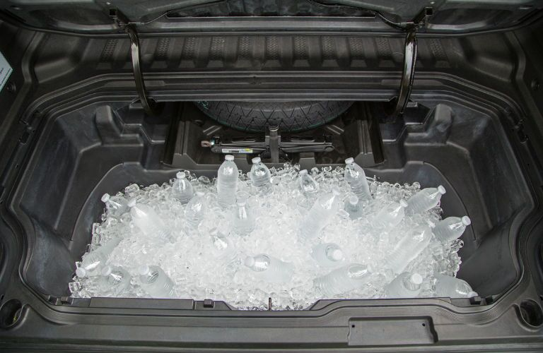 In-bed trunk with ice
