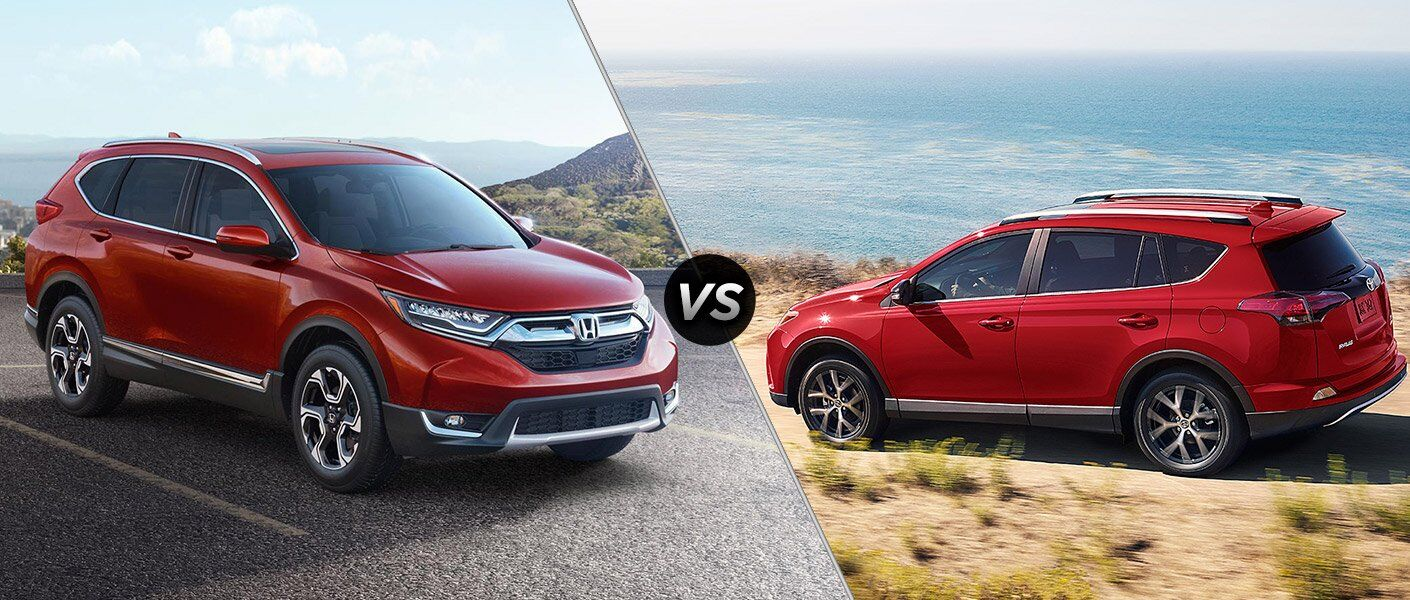 2017 honda cr v vs 2017 toyota rav 4 for Honda crv competitors