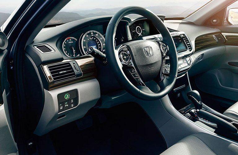 2017 Honda Accord steering wheel