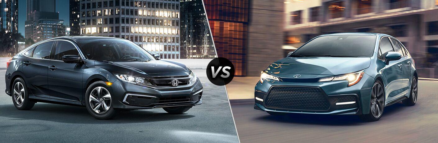 Hondafinancialservices Online Payment >> 2019 Honda Civic vs 2020 Toyota Corolla