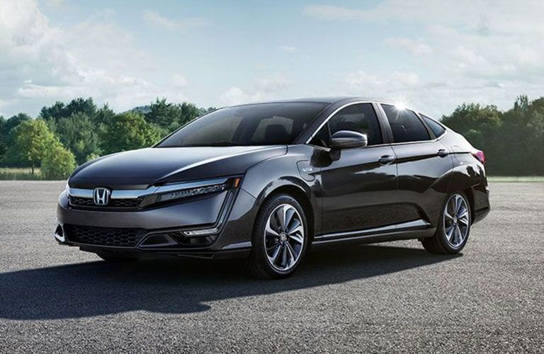 2018 Honda Clarity Plug-in Hybrid parked in the sun