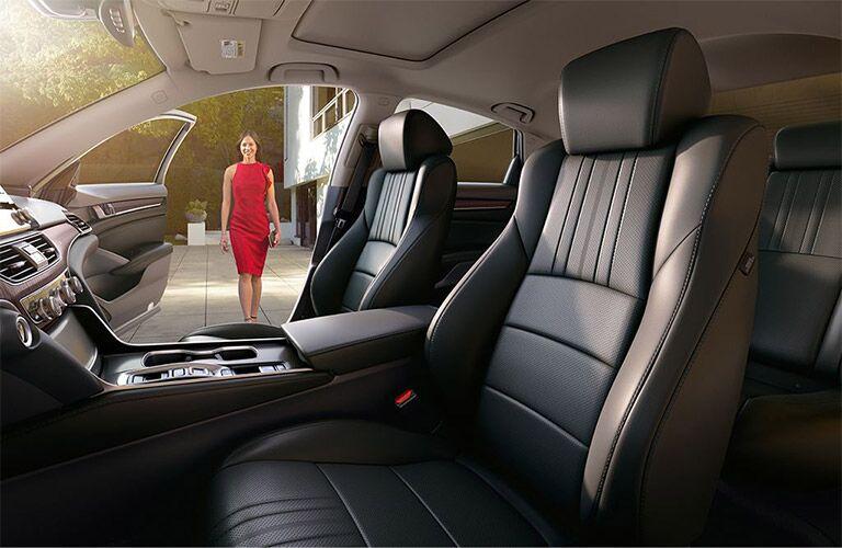 2019 Honda Accord front seating