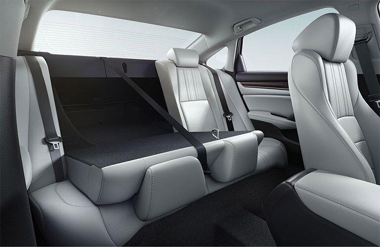 2019 Honda Accord with 60/40 split folding rear seat