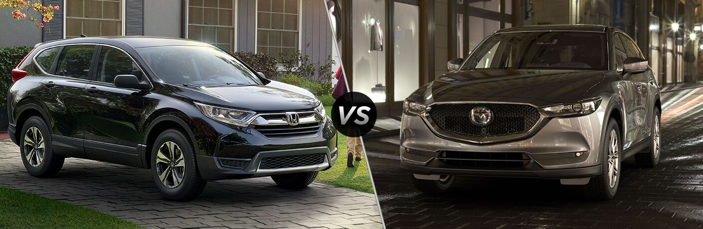 2019 Honda CR-V vs 2019 Mazda CX-5