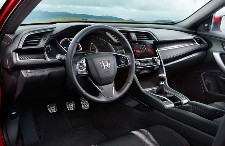 2019 Honda Civic interior dashboard