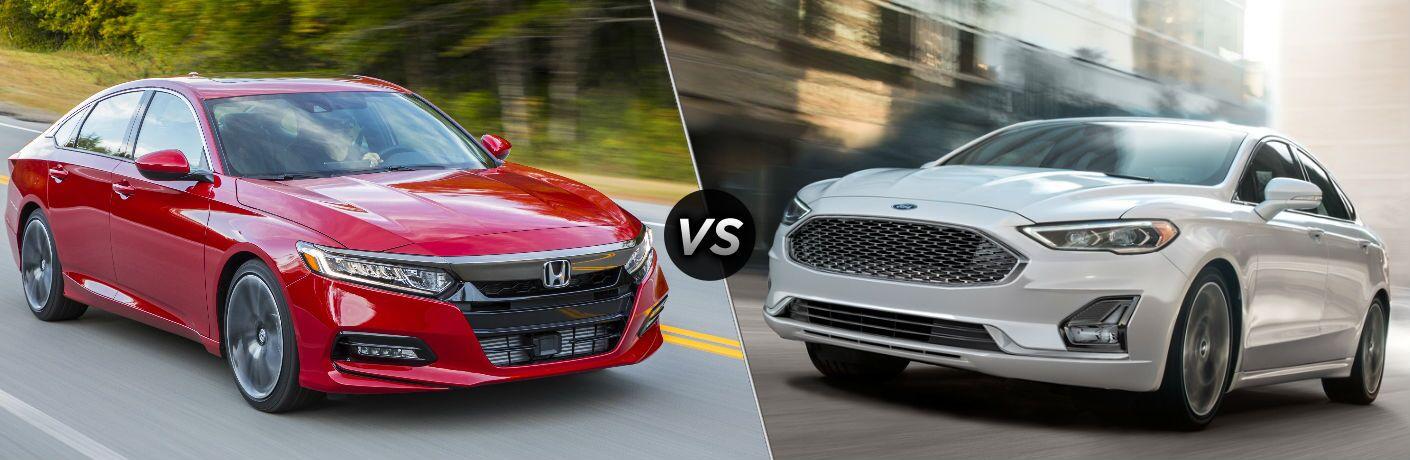 2020 Honda Accord vs 2020 Ford Fusion