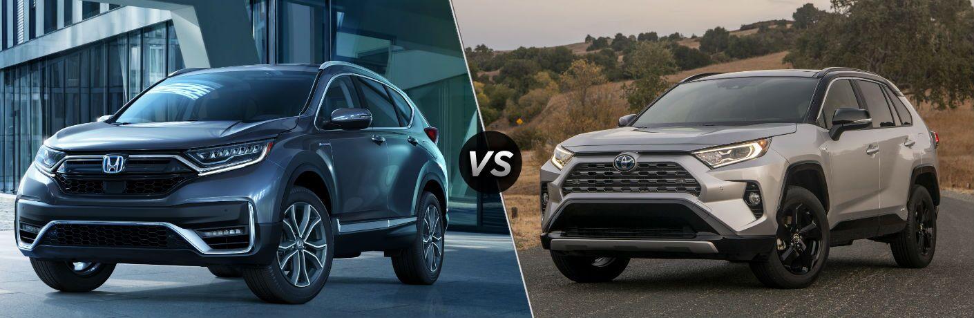 2020 Honda CR-V Hybrid vs 2020 Toyota RAV4 Hybrid