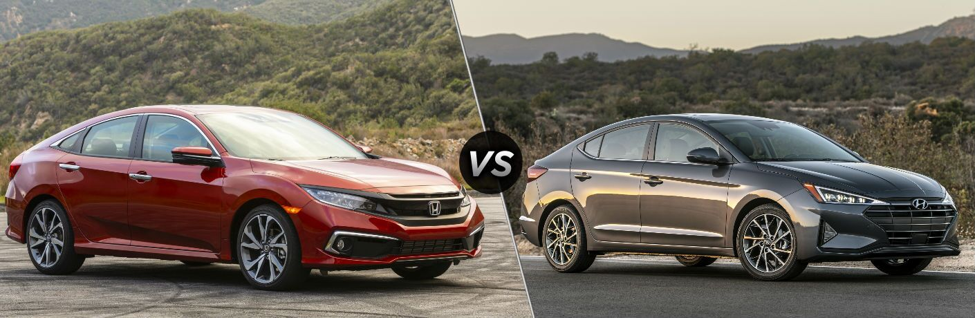 2020 Honda Civic Touring Sedan vs 2020 Hyundai Elantra