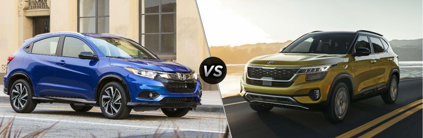 2020 Honda HR-V vs 2021 Kia Seltos