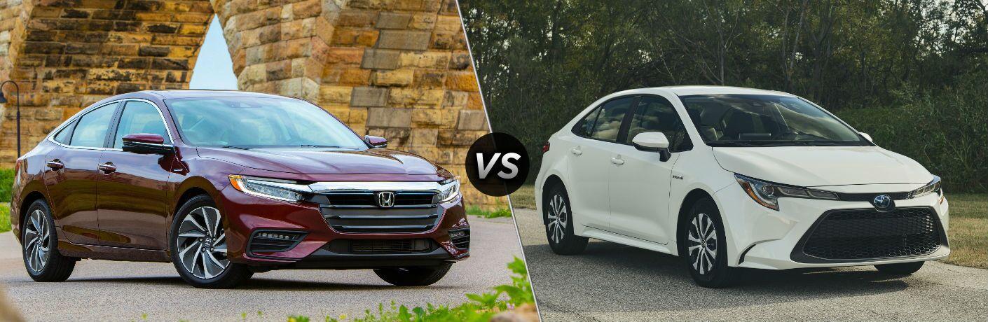 2020 Honda Insight vs 2020 Toyota Corolla Hybrid