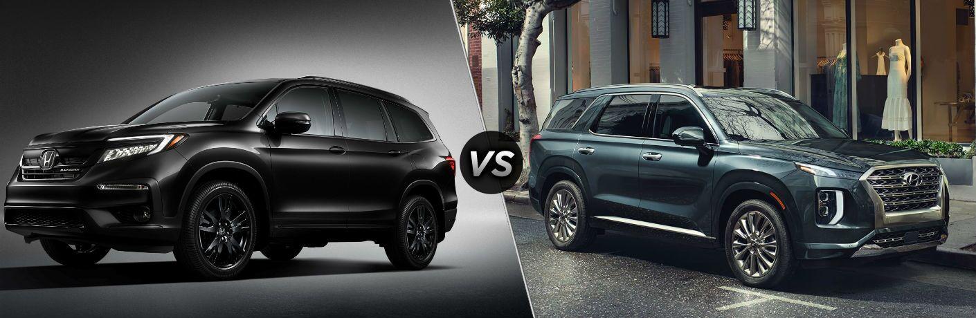 2020 Honda Pilot vs 2020 Hyundai Palisade