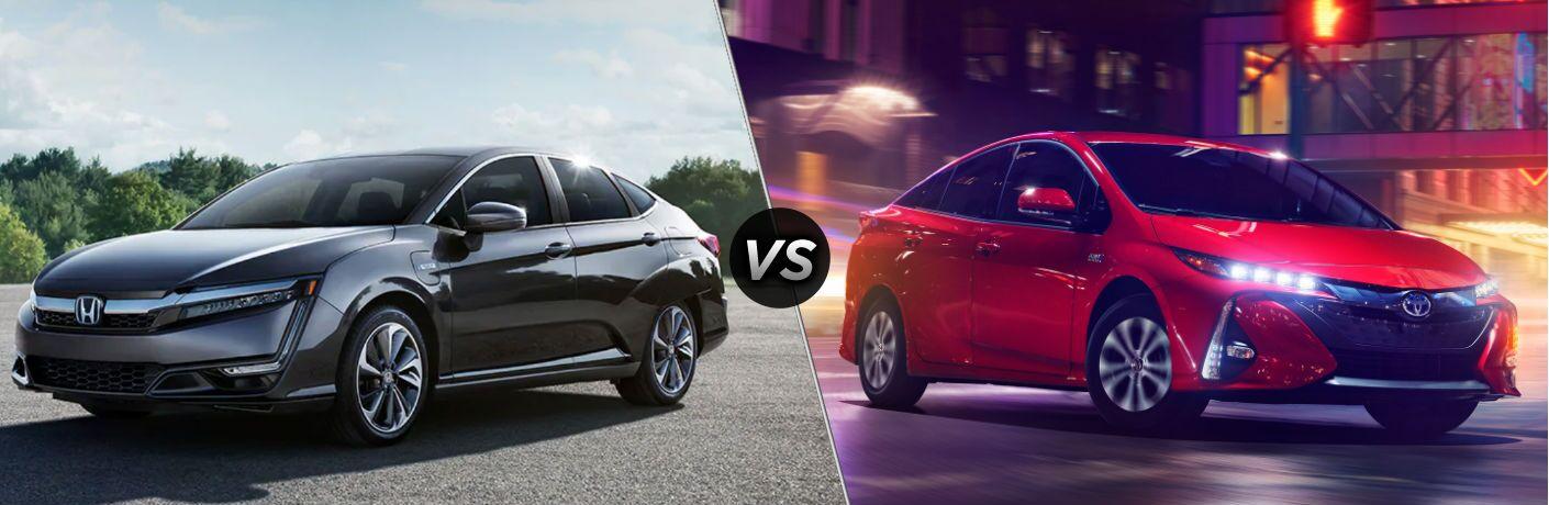 2021 Honda Clarity Plug-In Hybrid vs 2020 Toyota Prius Prime