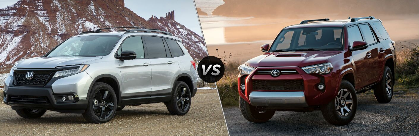 2021 Honda Passport vs 2021 Toyota 4Runner