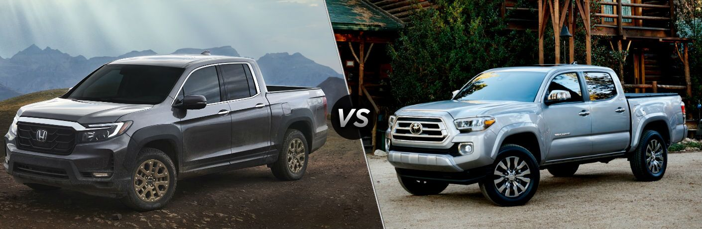 2021 Honda Ridgeline vs 2021 Toyota Tacoma