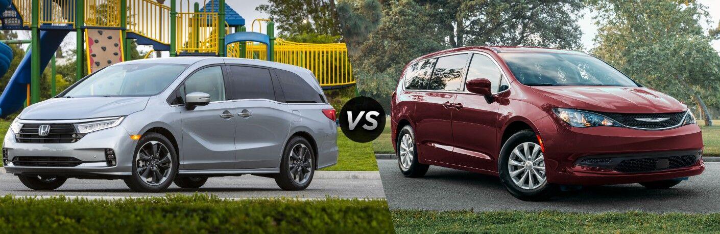 2022 Honda Odyssey vs 2021 Chrysler Voyager