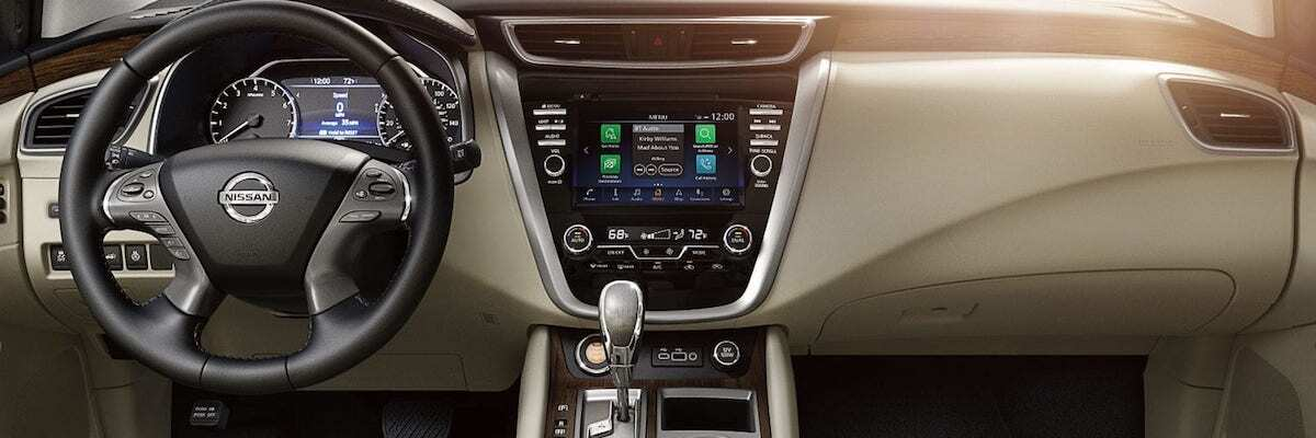 Nissan Murano vs Toyota Highlander Dayton Murano Interior