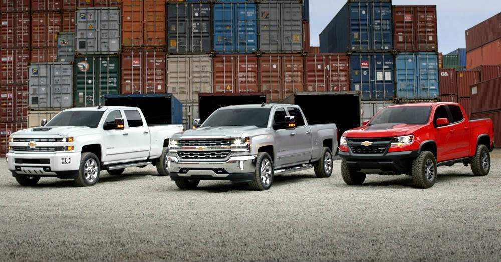Chevrolet Pickups feature all levels of capability.