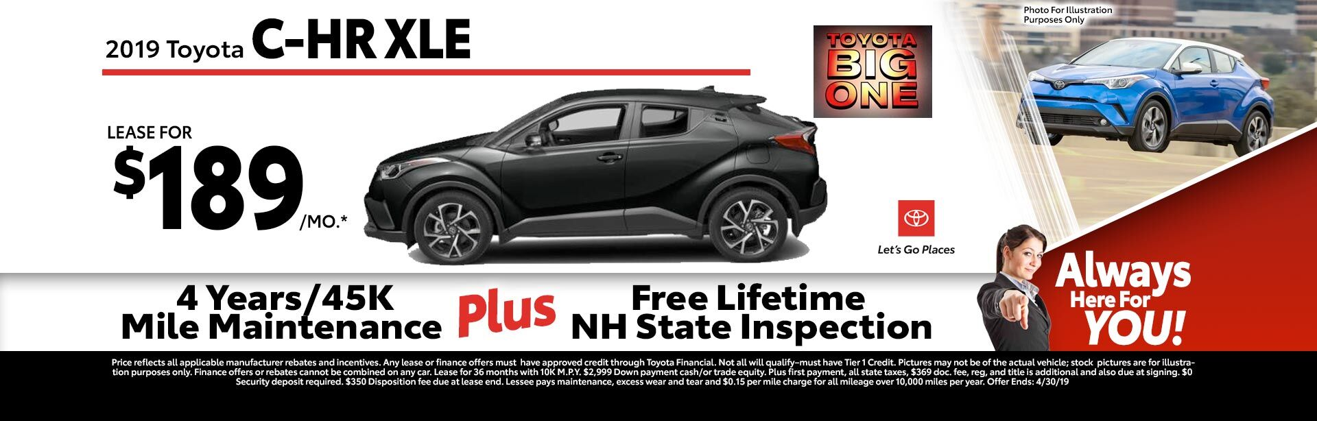 2019 Toyota C-HR at McGee Toyota of Claremont