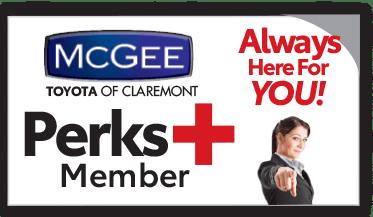 McGee Perks Plus Member Card
