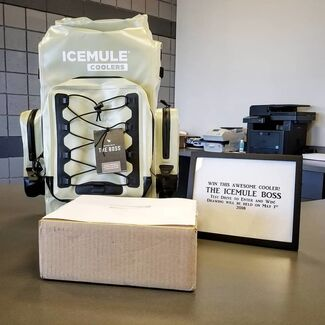 Win This Awesome Cooler!