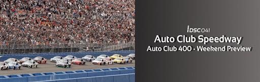 Fontana Speedway NASCAR