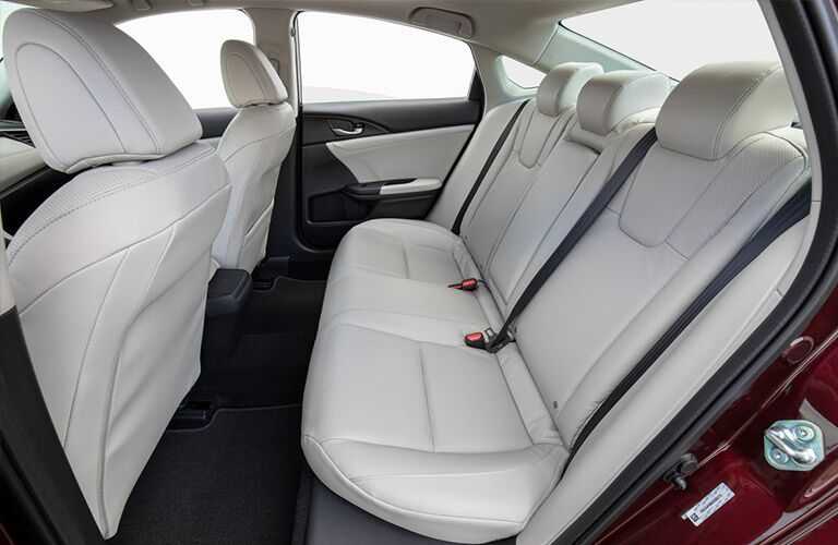 2020 Honda Insight Rear Seat Interior