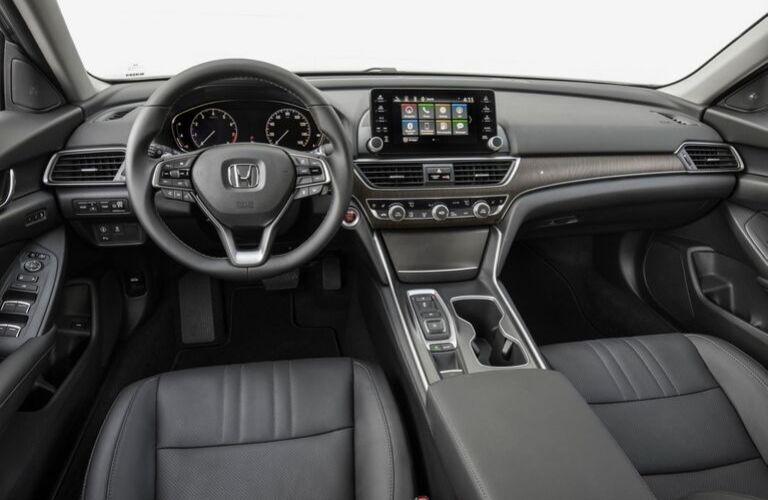 2020 Honda Accord Touring Front Seat Interior