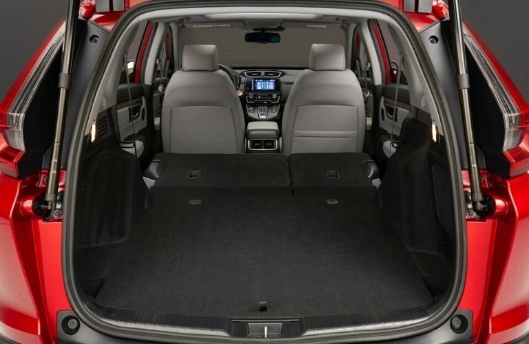 2020 Honda CR-V Hybrid Cargo Space with Rear Seats Laid Flat