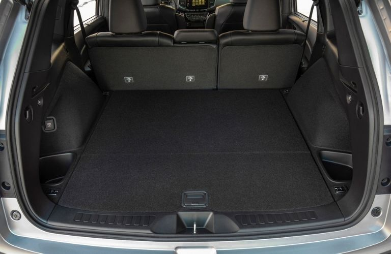 2021 Honda Passport Rear Cargo Space