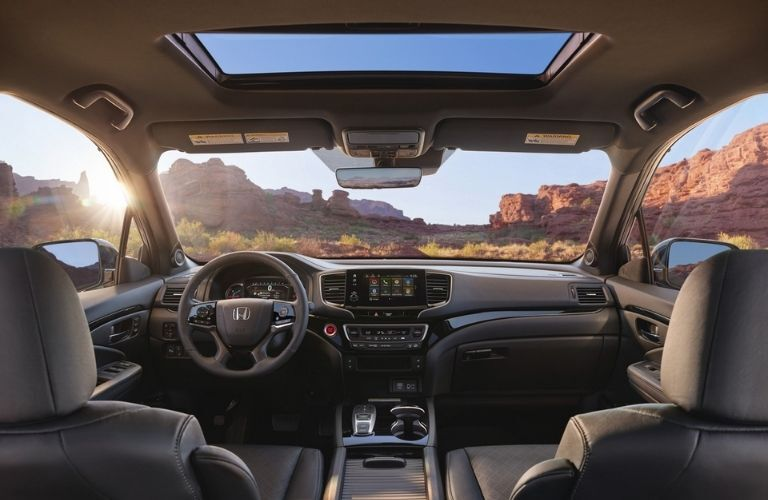 2021 Honda Passport Front Interior