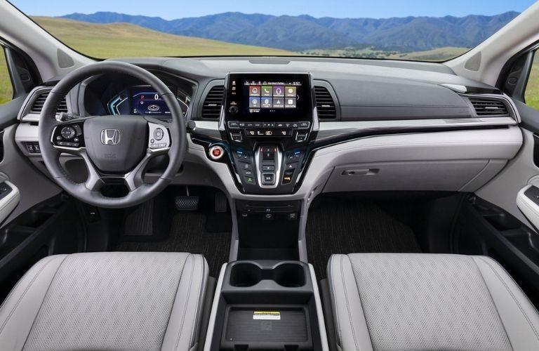 2022 Honda Odyssey Steering Wheel and Dashboard