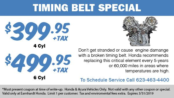 Timing Belt Replacement Discounted Service in Avondale