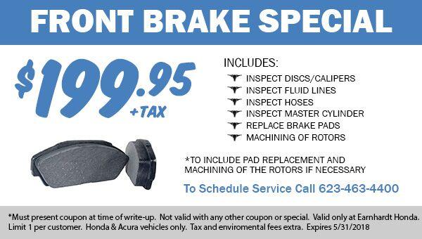 Brake Repair in Avondale Service Coupon