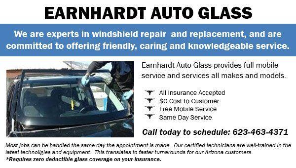 Auto Glass at Earnhardt Honda