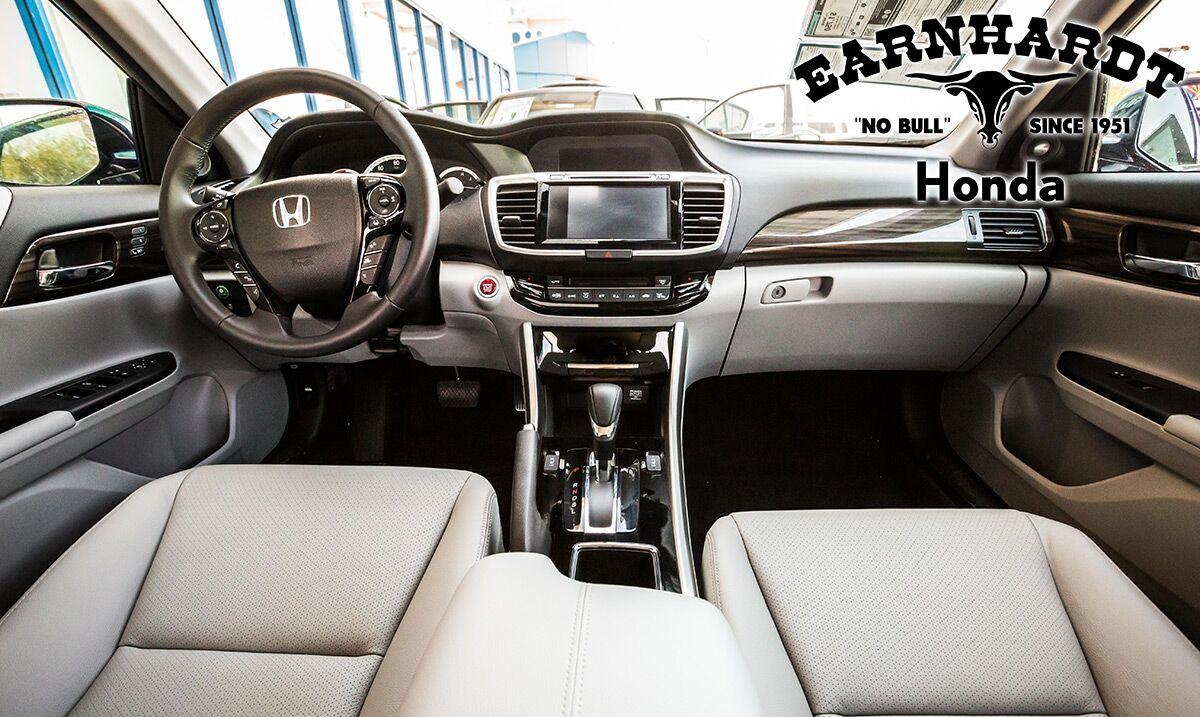 Get Inside a new Honda at Earnhardt Honda