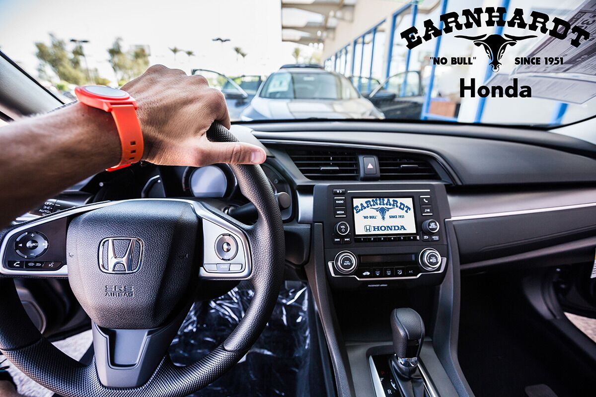 Take a Test Drive at Earnhardt Honda in Avondale