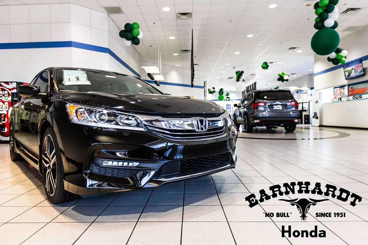 New Honda Vehicles in the Showroom