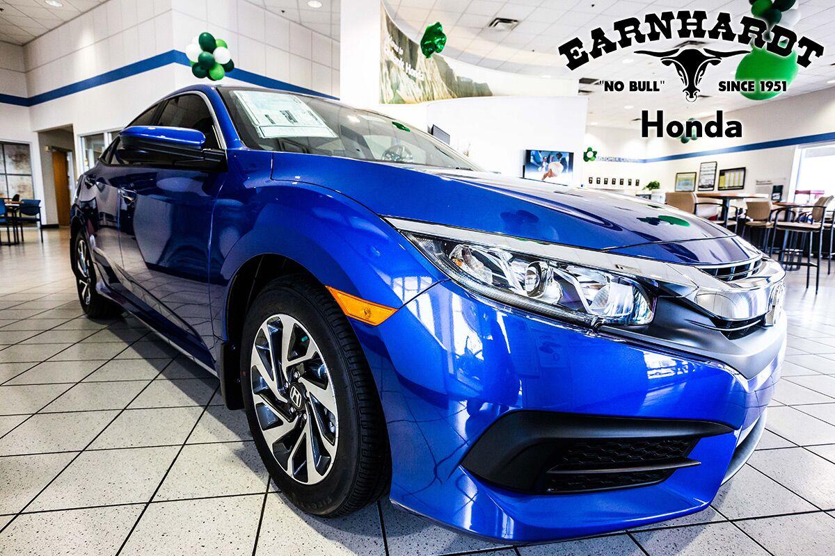 Electric Blue Honda in Avondale