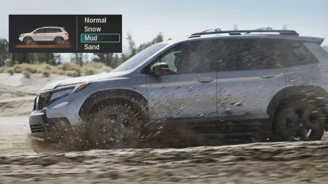 Honda Passport Mud Mode