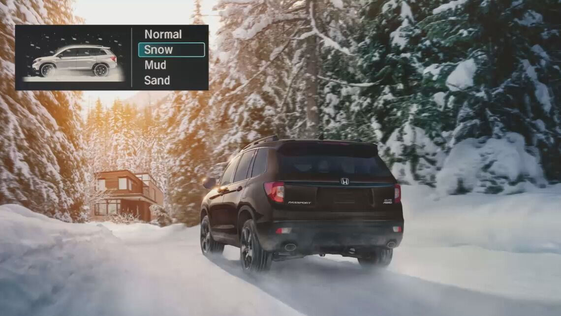 Honda Passport Snow Mode