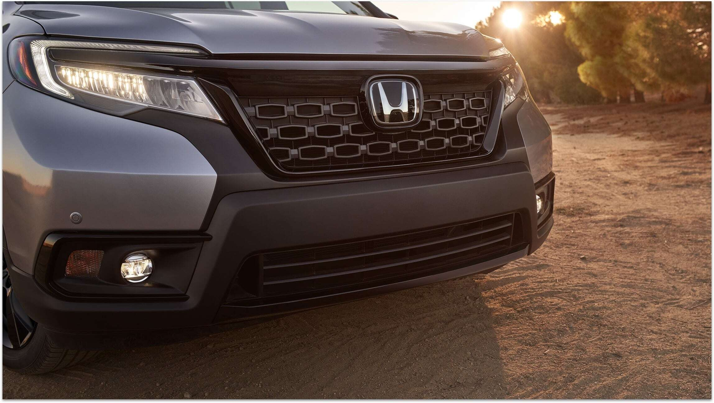Honda Passport's LED Fog Lights